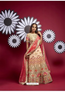 Multi Colour Heavy Designer Wedding Wear Lehenga Choli