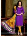 Arresting Lace Work Banglori Silk Churidar Designer Suit