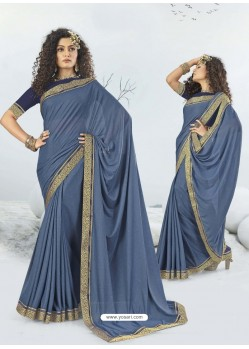 Pigeon Designer Party Wear Lycra Sari