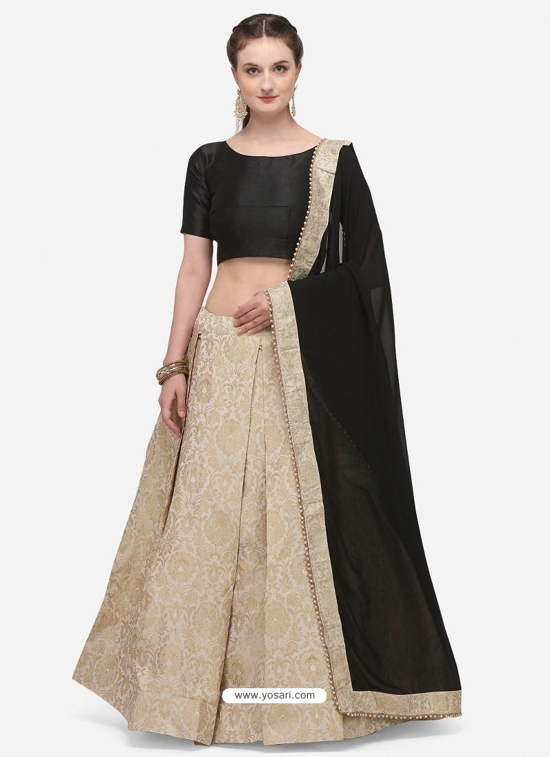 Gold Heavy Designer Party Wear Lehenga Choli