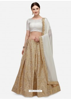 Gold Heavy Designer Party Wear Lehenga Choli