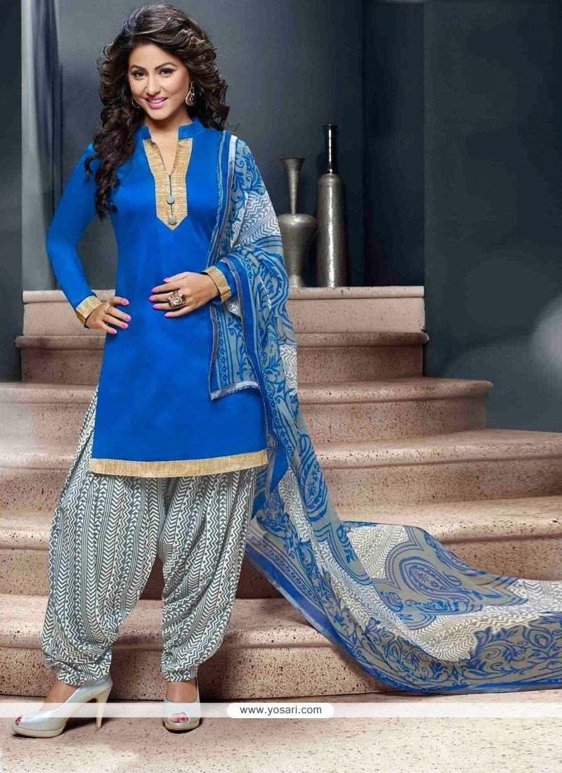 Superb Lace Work Designer Patila Salwar Suit