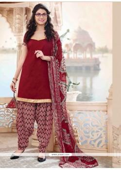 Magnetic Lace Work Designer Patiala Salwar Kameez