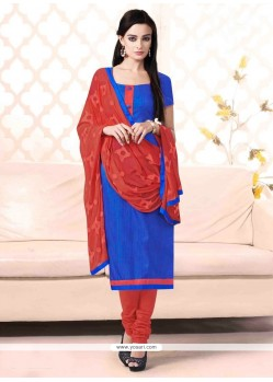 Gorgonize Blue Churidar Salwar Suit