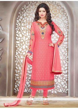 Ayesha Takia Embroidered Work Straight Suit