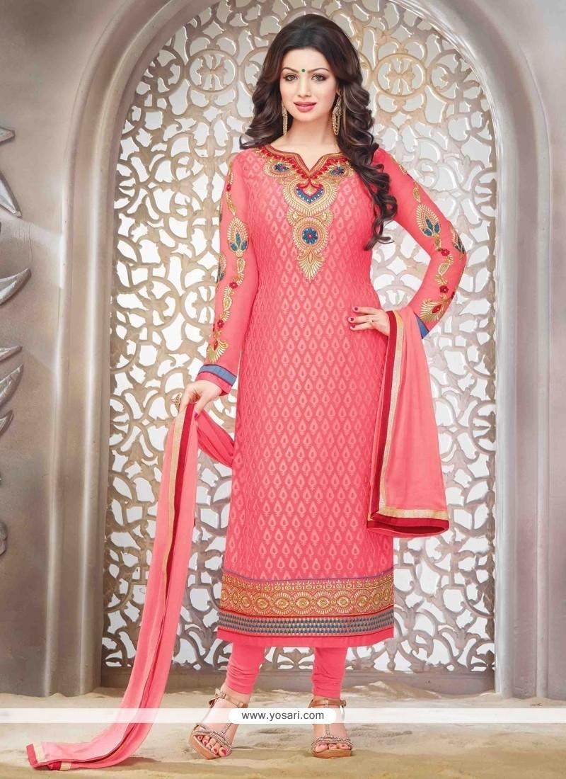 Ayesha Takia Embroidered Work Straight Suit