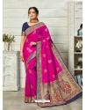 Rani Designer Party Wear Art Soft Silk Sari