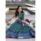 Teal Readymade Latest Designer Party Wear Anarkali Suit