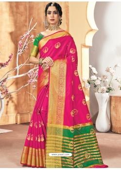 Rani Designer Party Wear Silk Sari