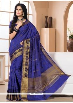 Divine Blue Designer Saree