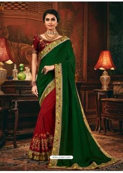 Multi Colour Designer Party Wear Fancy Silk Sari