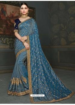 Pigeon Designer Classic Wear Art Silk Sari