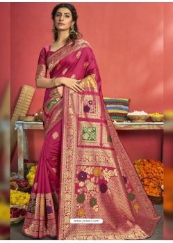 Rani Designer Party Wear Art Silk Sari