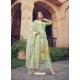 Sea Green Designer Pure Maslin Palazzo Salwar Suit