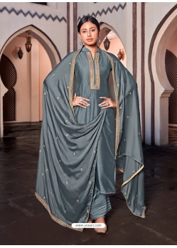 Pigeon Designer Cotton Silk Palazzo Salwar Suit