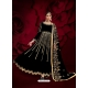 Black Designer Heavy Pure Georgette Anarkali Suit
