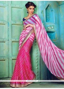 Orphic Faux Crepe Designer Traditional Sarees