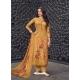 Mustard Designer Pure Maslin Palazzo Salwar Suit