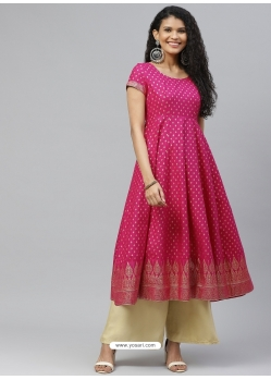 Rani Readymade Designer Party Wear Kurti