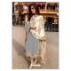 Grey Designer Party Wear Faux Georgette Pakistani Suit