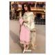 Pink Designer Party Wear Faux Georgette Pakistani Suit