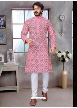 Pink Exclusive Readymade Kurta Pajama