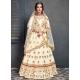 Off White Stylish Designer Bridal Wear Lehenga Choli