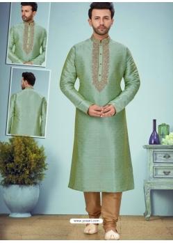 Sea Green Exclusive Readymade Designer Kurta Pajama