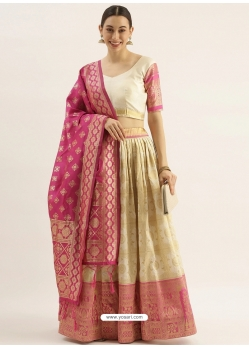 Gold Latest Designer Wedding Lehenga Choli