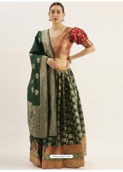 Navy Blue Latest Designer Wedding Lehenga Choli