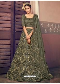 Mehendi Latest Designer Wedding Lehenga Choli