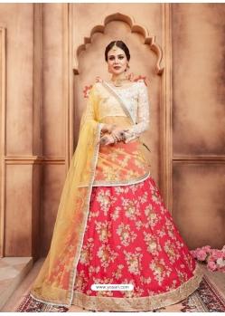 Dark Peach Latest Designer Wedding Lehenga Choli