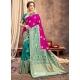 Rani Heavy Designer Party Wear Silk Sari