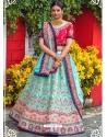 Firozi Latest Designer Wedding Lehenga Choli