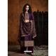 Purple Readymade Designer Party Wear Faux Georgette Palazzo Suit