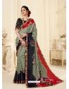 Multi Colour Latest Designer Casual Wear Sari