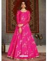 Rani Designer Party Wear Anarkali Long Gown