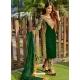 Forest Green Designer Party Wear Velvet Pakistani Suit