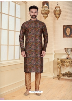 Multi Colour Exclusive Readymade Designer Kurta Pajama