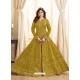 Marigold Latest Designer Mulberry Silk Indo Western Suit
