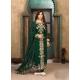 Dark Green Latest Designer Faux Georgette Salwar Suit