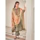 Grayish Green Latest Designer Pure Jam Cotton Palazzo Salwar Suit