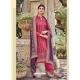Rose Red Latest Designer Heavy Chinnon Palazzo Salwar Suit