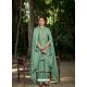 Aqua Mint Latest Designer Viscose Muslin Palazzo Salwar Suit