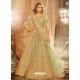 Olive Green Designer Wedding Wear Net Lehenga Choli