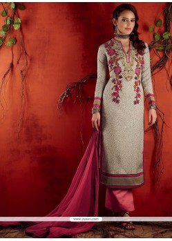 9bf567cbd6 Shop online Lustre Lavender Cotton Satin Designer Pakistani Salwar Suit