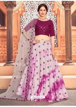 Multi Colour Heavy Designer Festive Wear Lehenga Choli