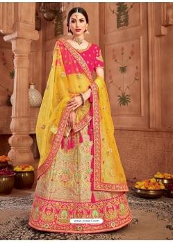 Multi Colour Heavy Designer Wedding Wear Lehenga Choli