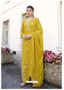 Corn Latest Designer Real Georgette Salwar Suit