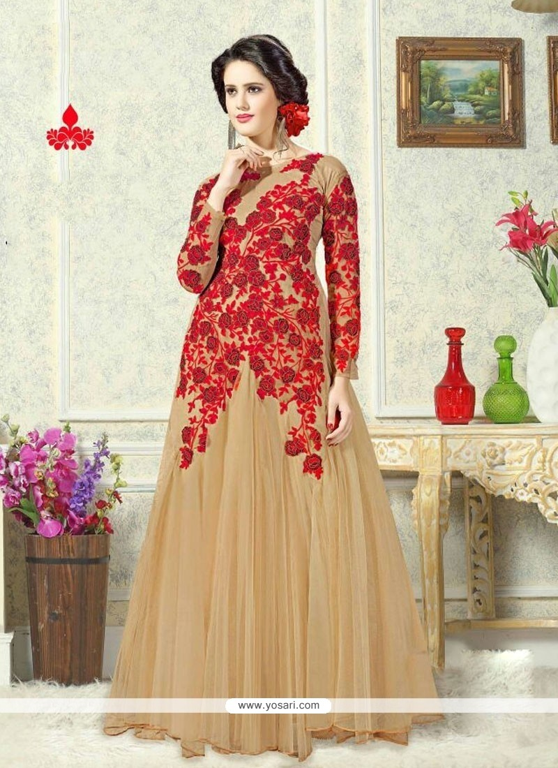 0e0df8e59d Shop online Mesmerizing Embroidered Work Designer Gown